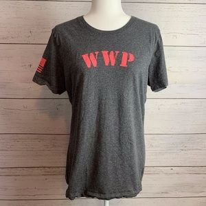 Under Armour Heat Gear WWP Fitted Cotton Tee Large